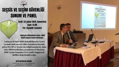 Photo of SEÇSİS ve Seçim Güvenliği Hakkında Basın Toplantısı ve Panel Yapıldı