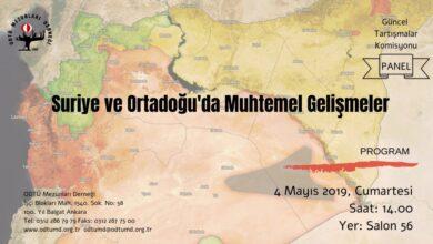 Photo of Suriye ve Ortadoğu'da Muhtemel Gelişmeler