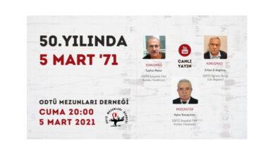 Photo of 50. Yılında 5Mart'71